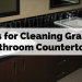 Tips for Cleaning Granite Bathroom Countertops