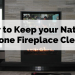 How To Keep Your Natural Stone Fireplace Clean
