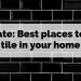 Update: Best Places To Use Tile In Your Home